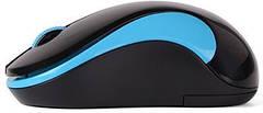 Миша бездротова A4Tech G3-270N Black/Blue, фото 2
