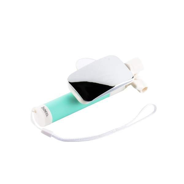 Селфи-монопод Hoco K2 Magic AUX Green