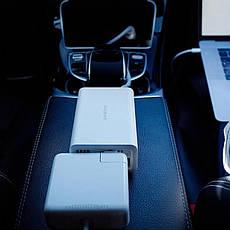 Автомобільний інвертор перетворювач Mijia Smartmi Car Inverter 12V to 220V White, фото 3
