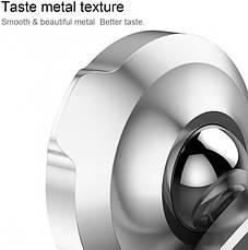 Автодержатель магнитный Baseus Small Ears Series Magnetic Silver (SUER-A0S), фото 2