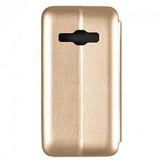 Чехол-книжка G-Case Ranger Series for Samsung J120 (J1-2016) Gold, фото 2