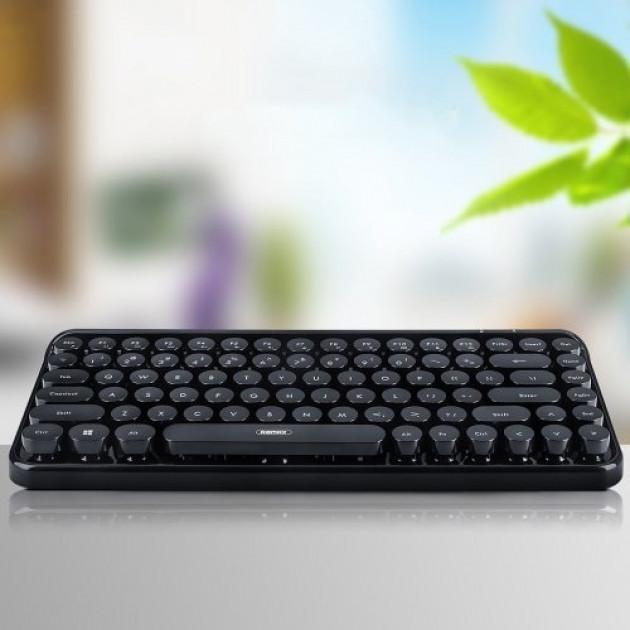 Беспроводная Bluetooth клавиатура Remax K101 Black