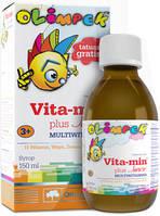 Вітаміни для дітей Olimp Labs Vitamin Plus Junior Multivitamin (150 мл)