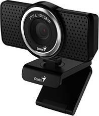 Веб-камера Genius ECam 8000 Full HD Black, фото 2