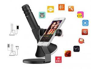 Микрофон-караоке Momax KMIC Pro BT Black (IM2D), фото 3