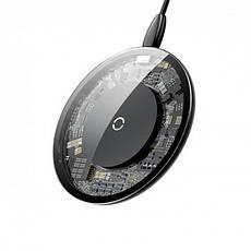 Беспроводное зарядное устройство Baseus Simple Wireless Charger (CCALL-AJK01) Crystal, фото 2