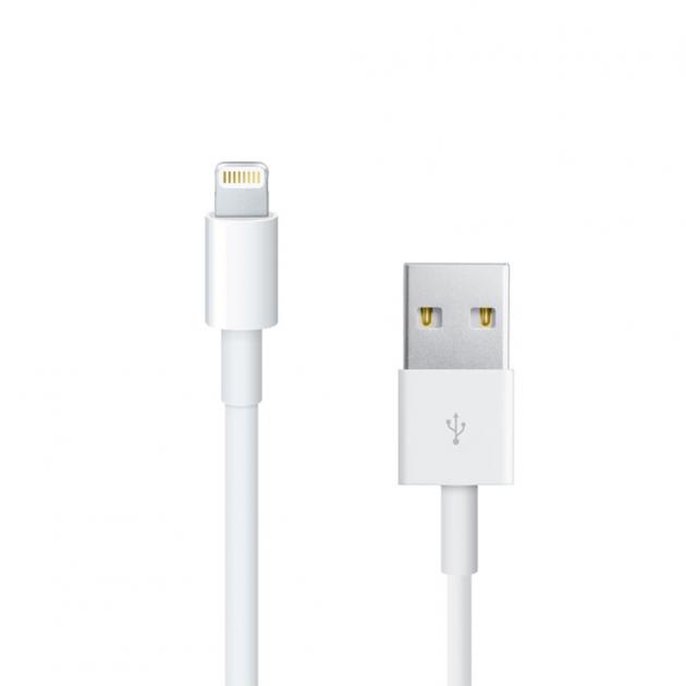 Кабель Apple Lightning to USB 1 м (F0V3223BSDkA) White FOXCONN