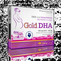 Вітаміни для жінок у період вагітності та годування груддю Olimp Gold DHA (30 кап)