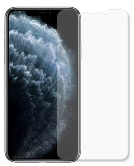 Гидрогелевая защитная пленка AURORA AAA на iPhone 11 Pro Max на весь экран прозрачная