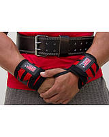 Бинт кистьовий Gorilla wear Wrist Wraps PRO (Black/Red) Знижка! (223345)