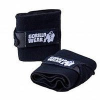 Страховочный бинт для запястья Gorilla wear Hardcore Wrist Wraps Gloves (Black) Знижка! (223347)