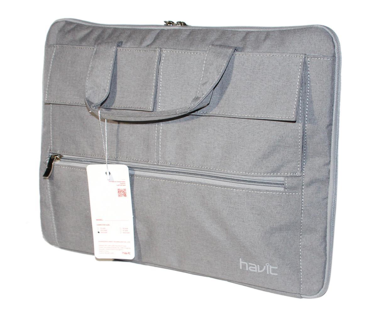 "Сумка для ноутбука HAVIT HV-H0011 15,6"" Сіра"