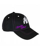 Жіноча бейсболка Gorilla Wear Lady Logo Cap (Black/Purple)
