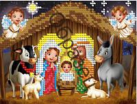 Схема для вышивки бисером «Рождество»