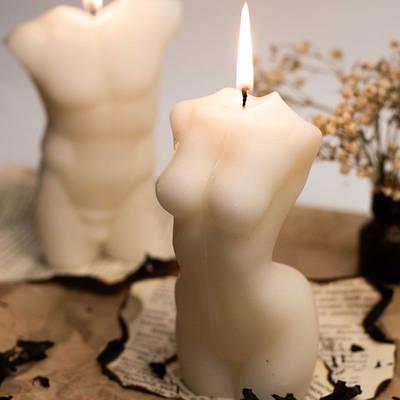 Фигурные свечи и силуэты