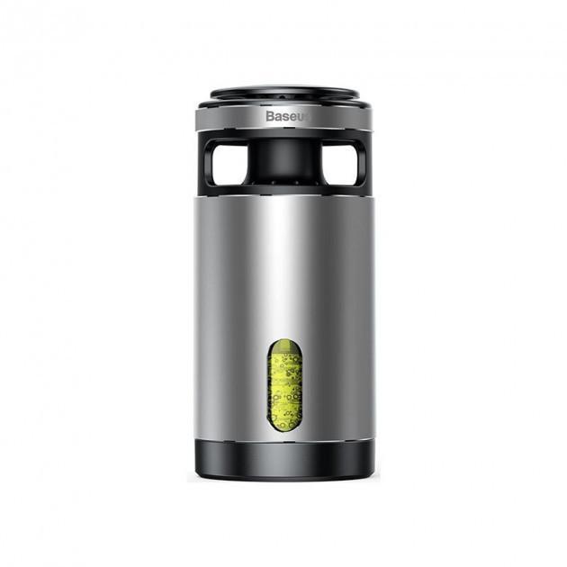Очищувач-освіжувач повітря для автомобіля Baseus Formaldehyde Purifier Silver (ACJHQ-0S)
