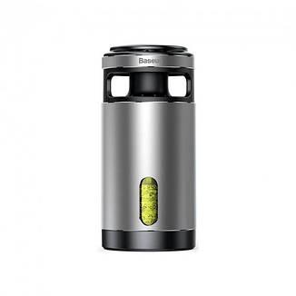 Очищувач-освіжувач повітря для автомобіля Baseus Formaldehyde Purifier Silver (ACJHQ-0S), фото 2