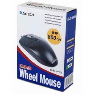 Мышь A4Tech OP-720 Black, фото 2