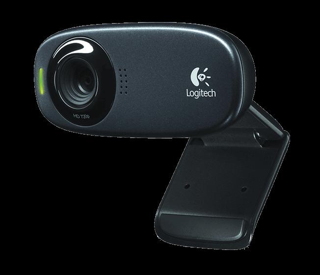 Веб-камера Logitech C310 HD (960-001065) Black