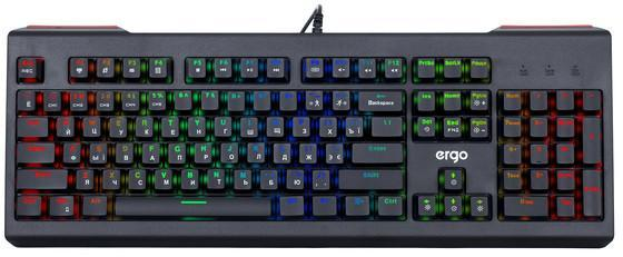 Клавиатура проводная Ergo KB-950 Black (KB-950)