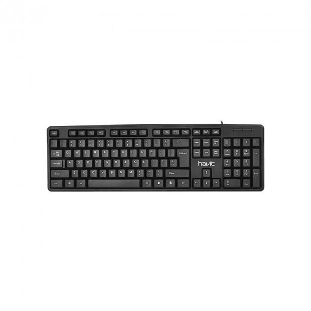 Дротова клавіатура HAVIT HV-KB430 Black