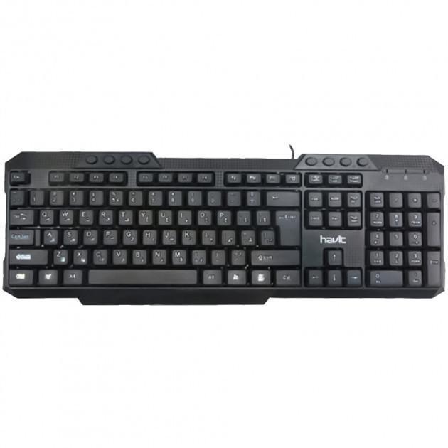 Дротова клавіатура HAVIT HV-KB613 Black
