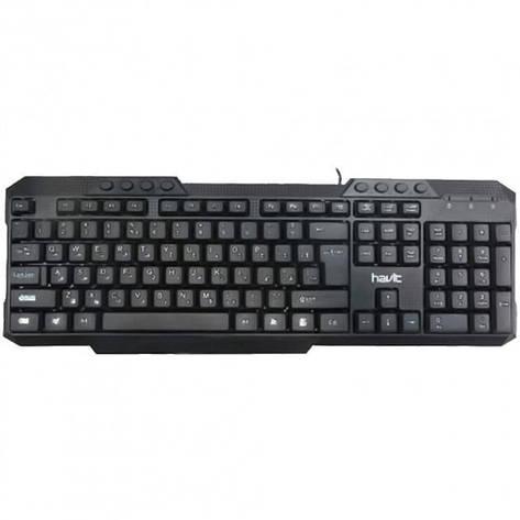 Дротова клавіатура HAVIT HV-KB613 Black, фото 2