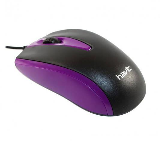 Миша Havit HV-MS871 Purple, фото 2