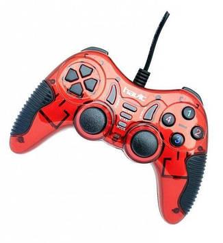 Провідний геймпад Havit HV-G85 USB, PS2, PS3 red, фото 2