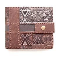 Мужской кошелек из натуральной кожи ручной работы