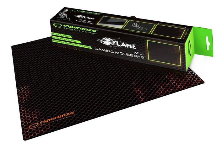 Ігрова поверхня Esperanza for gaming Flame maxi (400 x 300 x3), фото 2