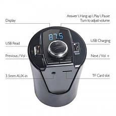 Автомобільний FM модулятор трансмітер HZ H26BT - гучний зв'язок Bluetooth + AUX, фото 3