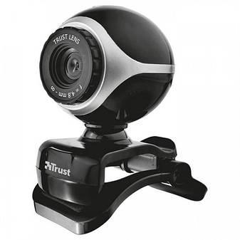 Веб-камера Trust EXIS WEBCAM BLCK-SLVR (17003), фото 2