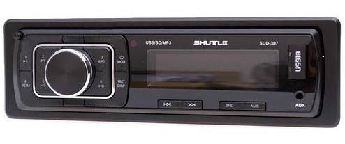 Автомагнітола SHUTTLE SUD-387 Black/Green, фото 2