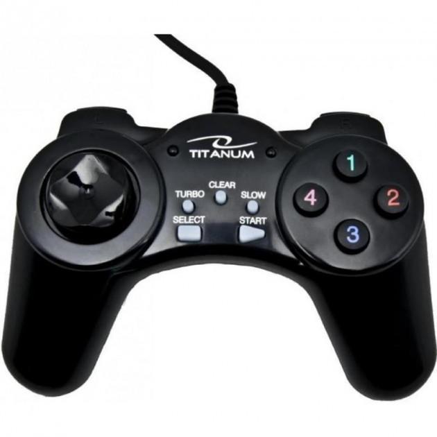Провідний геймпад Esperanza Titanum gamepad for PC USB Samurai (TG105)