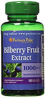 Витаминов антиоксидантный Puritan's Pride Bilberry 4:1 Extract 1000 мг (90 капс)