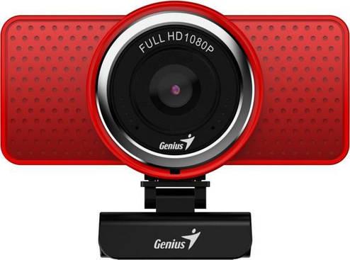 Веб-камера Genius ECam 8000 Full HD Red, фото 2