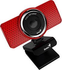 Веб-камера Genius ECam 8000 Full HD Red, фото 3