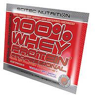 Протеин Scitec Nutrition 100% Whey Protein Professional (30 г) 30 шт.