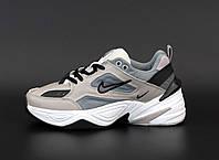 Кроссовки женские серые демисезонные Nike М2К Tekno новинка 2021