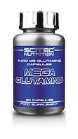 Глютамін Scitec Nutrition Mega Glutamine (90 капс)