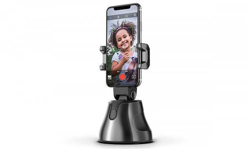 Smart Tracking Штатив Apai Genie 360° з датчиком руху Black, фото 2