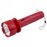 Фонарик светодиодный аккумуляторный ручной: 2 варианта свечения