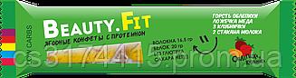 Ягодно-фруктовые конфеты с протеином Beauty.Fit Облепиха-Клубника (63 грамма)