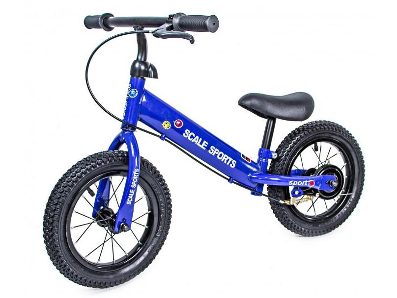 Детский Беговел-Велобег от 2-х лет Scale Sports Синий