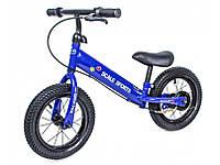Дитячий Беговел-велобіг від від 2-х років Scale Sports Синій, фото 1