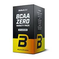 Амінокислоти BCAA BioTech BCAA Zero Variety Pack (20 пак) (109320) Фірмовий товар!