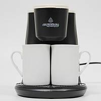 Кофеварка капельная на две чашки Crownberg CB 1568 500Вт