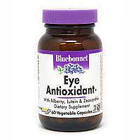 Антиоксидант для Очей з Зеаксантином Bluebonnet Nutrition Eye Antioxidant 60 рослинних капсул Знижка! (231819)