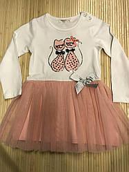 Платье для девочки белое праздничное